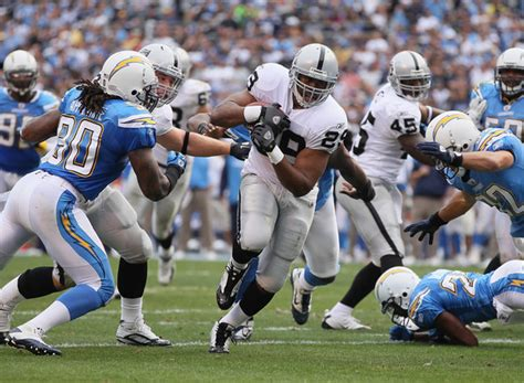 Nfl Thursday Night Football San Diego Chargers Vs Oakland
