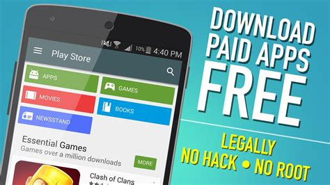 Download Paid Android Apps Free From Play Store (no Root