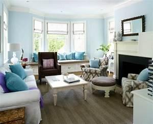Wohnzimmer Wandfarbe Sand : farbbeispiele f rs wohnzimmer kr ftige farbgestaltung zu hause ~ Markanthonyermac.com Haus und Dekorationen