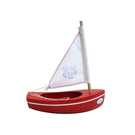 Toy Boats by Tirot Wooden Toy Boat For Children French Blossom