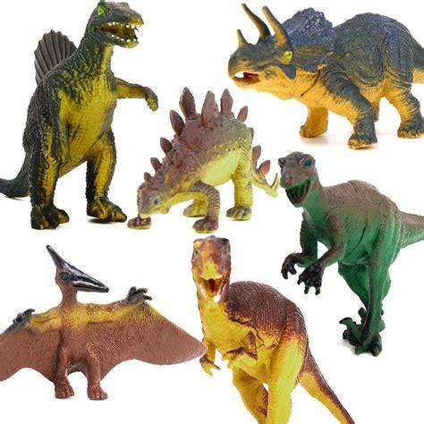 Speelgoed Dinosaurus by Dinosaur Set Tyrannosaurus Stegosaurus Triceratops