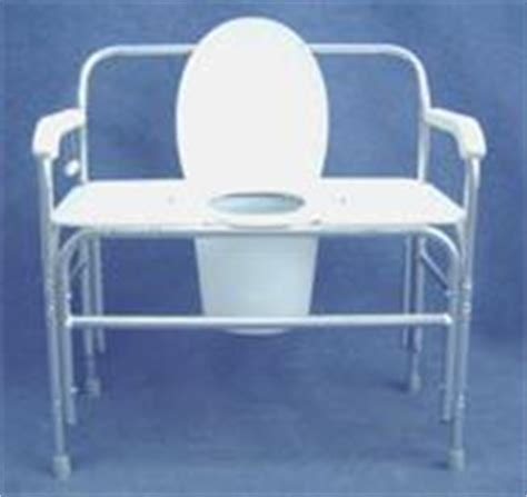 new convaquip 730 bariatric bedside commode toilet chair for sale dotmed listing 538684