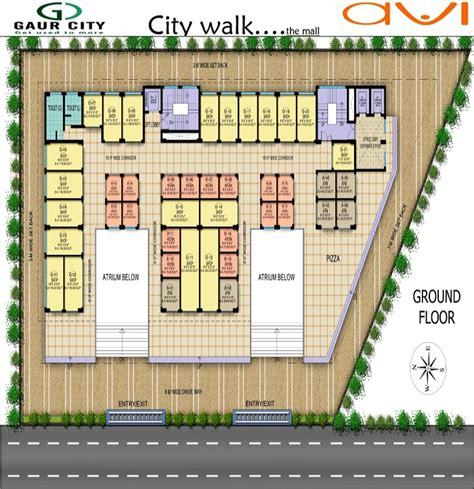 avi floor plan ground floor projects noida