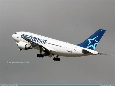 www busdrawings air transat airbus a310 300