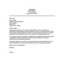 resume cover letter sles resume cover letter exle