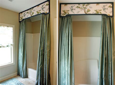Home Curtain : Bathroom Decoration Curtains-home Combo