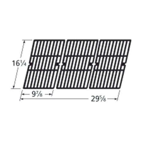 backyard grill replacement parts heavy duty bbq parts 61593 gloss cast iron cooking grid