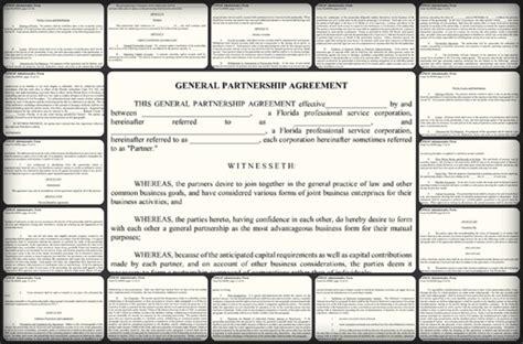 General Partnership Agreement Sample {word-pdf} Templates