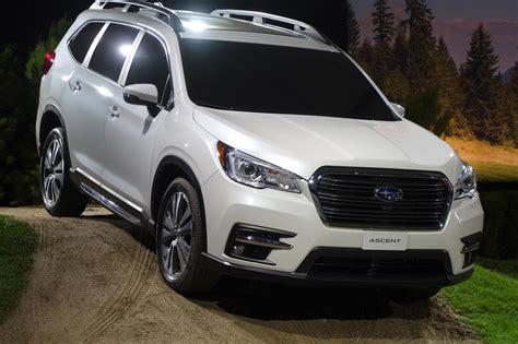 2019 Subaru Ascent Arrives With 19 Cupholders Automobile