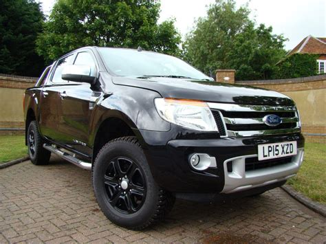 used 2015 ford ranger up cab limited 2 2 tdci 150 4wd auto for sale in luton