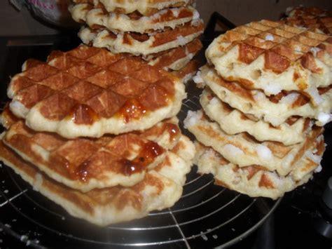 gaufres de liege veritable recette delices d edith