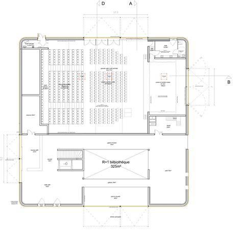 plan architecte salle des fetes olemps8 architecture aveyron