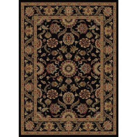 tayse rugs sensation black 5 ft 3 in x 7 ft 3 in