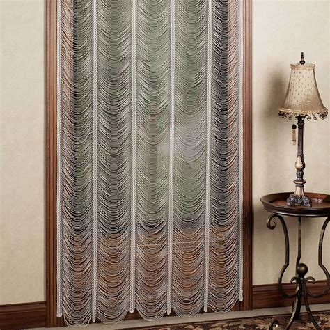 lace curtain panels rooms
