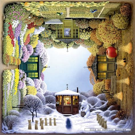 1000 pcs jigsaw puzzle jacek yerka the four seasons