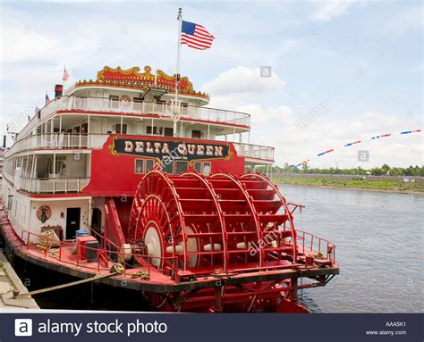 Delta Queen Boat by Paddlewheel Of The Historic Delta Queen Steam Powered