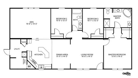 best 25 mobile home floor plans ideas on modular floor plans modular home floor