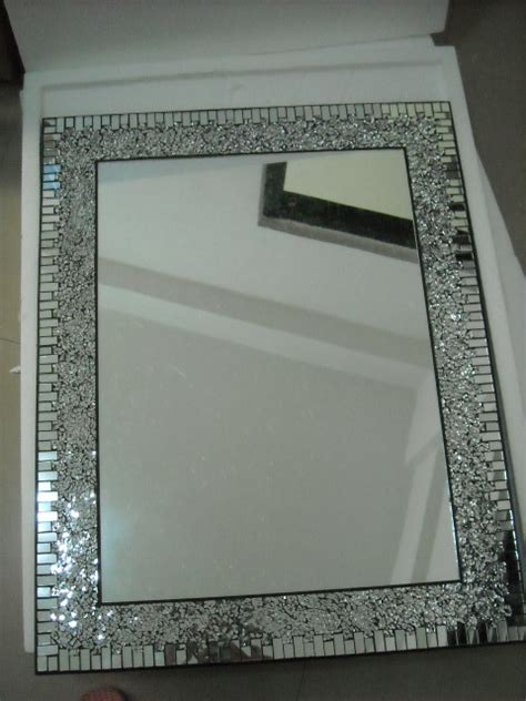 mosaic mirror for home decoration bathroom by laiwu yixin arts crafts co ltd