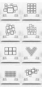 Idee Für Fotowand : die besten 25 bilderwand ideen auf pinterest bilder aufh ngen bilderwand ideen und wandbilder ~ Markanthonyermac.com Haus und Dekorationen