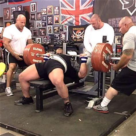 Eric Spoto 3275kg (722lbs) Bench Press World Record All