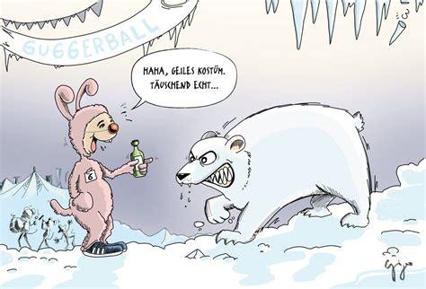 Cartoon der Woche  Sibirische Kälte Giger Graphics