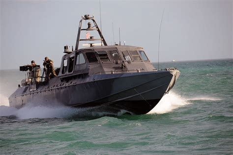 Navy Swift Boat Team by Mark V Special Operations Craft Military