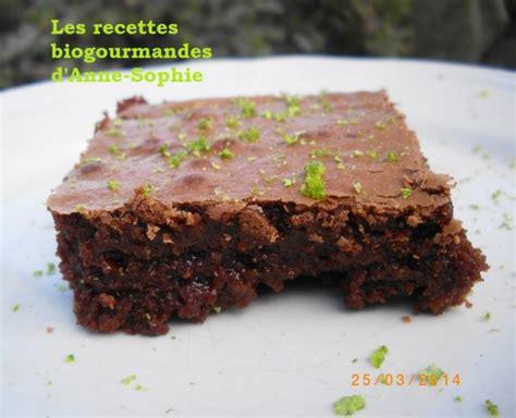 gateau chocolat amande a la farine de riz et zeste de
