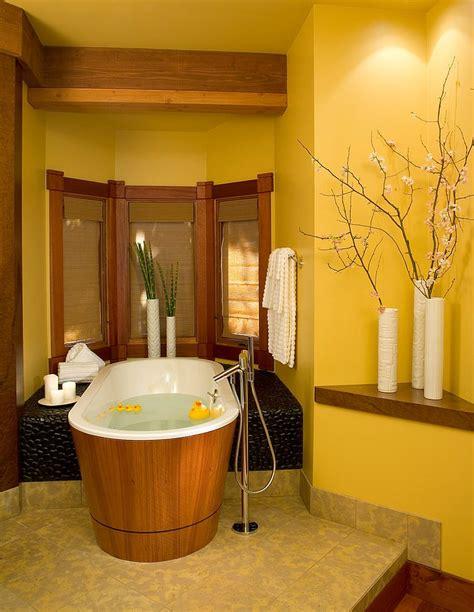 des id 233 es pour d 233 corer la salle de bain en jaune bricobistro