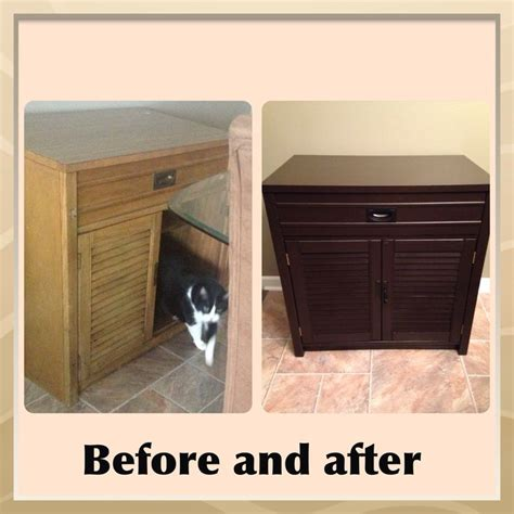 general finishes java gel stain makeover before and after