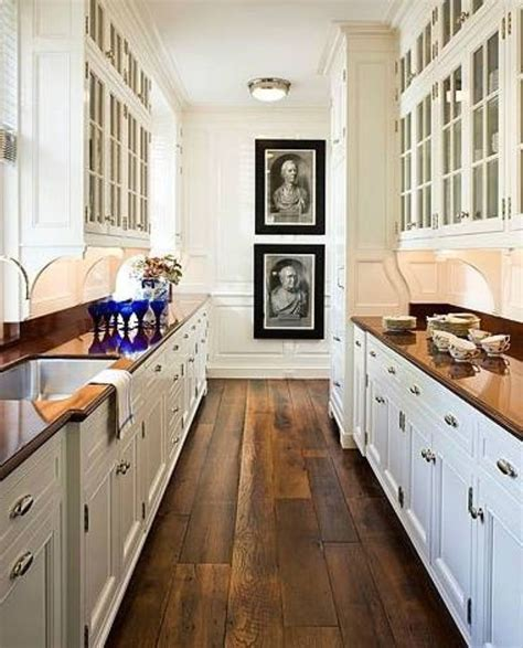 Awesome Galley Kitchen Designs  Floor Ideas For