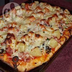 recette p 226 te 224 pizza 224 la machine 224 toutes les recettes allrecipes