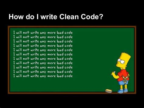 clean code design patterns
