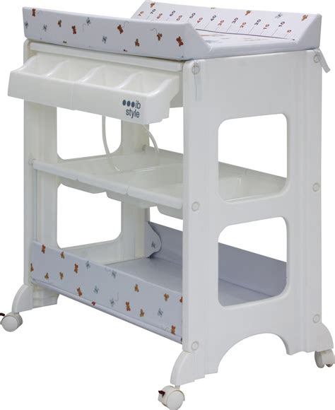 changing unit table bath portable changer dresser mat baby cleaning ebay