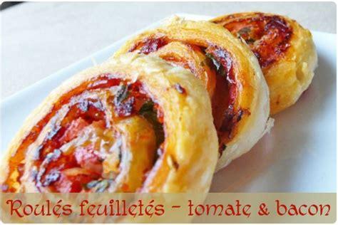 roul 233 s feuillet 233 s 224 la tomate et au bacon chefnini