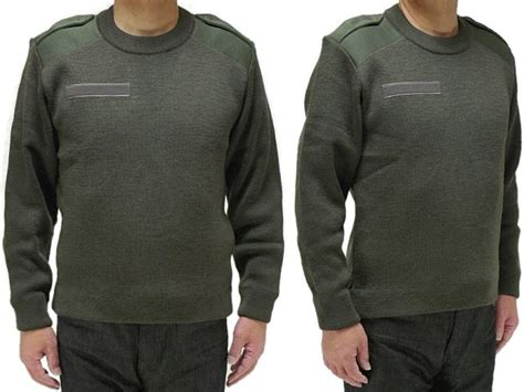 The French Military Command Sweater /saint James (unused The