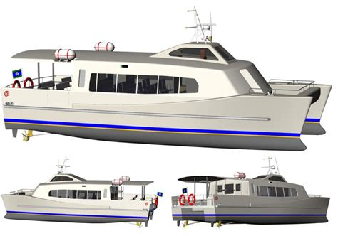 New Catamaran Boats For Sale by New 15 5m Coastal Catamaran Ferry For Sale Boats For