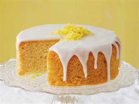 lemon cake with lemon glaze cookstr