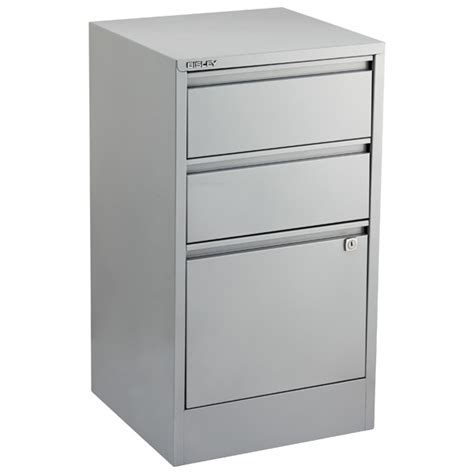 silver bisley 2 3 drawer file cabinets the container store