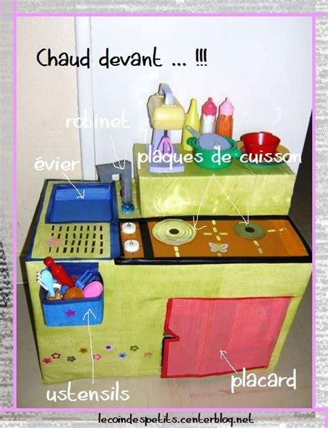 fabriquer une cuisine en pour enfant fin