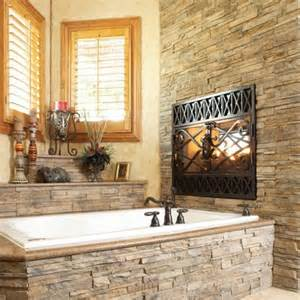tub surround bathroom ideas contemporary rustic