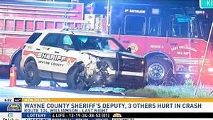 Wayne County Sheriff's deputy involved in crash with ...