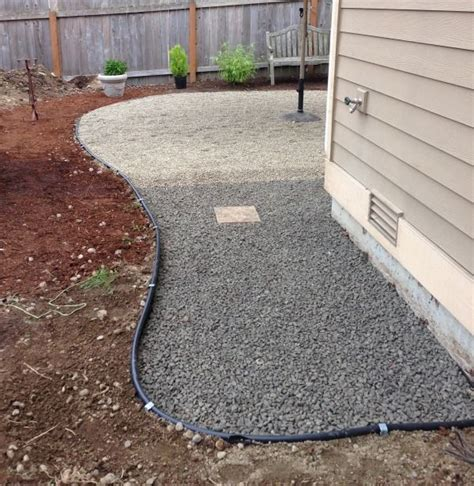 Pea Gravel Patio Designs by Best 25 Pea Gravel Patio Ideas On Gravel