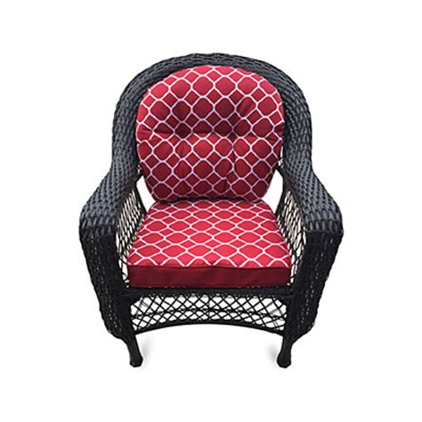 wilson fisher 174 nantucket resin wicker chair with cushion big lots