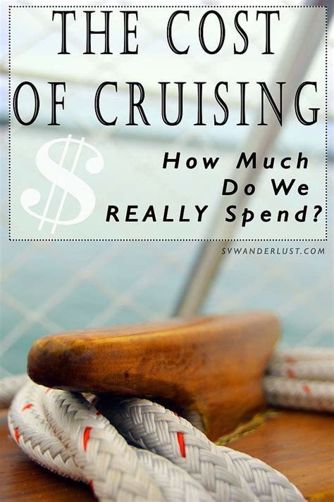 Catamaran Cruising Costs by The Price Of Cruising How Much Does It Really Cost S