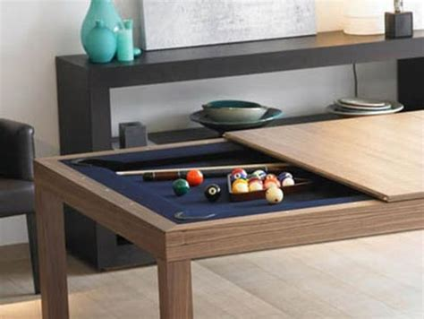 pool table dining room table one happy family