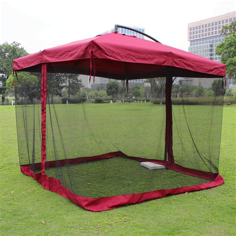 patio umbrella mesh netting 28 images patio umbrella screen 11 black outdoor table net