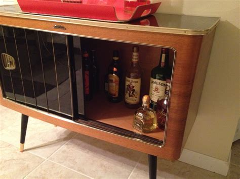 this guys radio cabinet just stopped working so he turned it into something brilliant