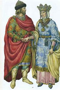 This royal Kievan couple is dressed for court / Ancient ...