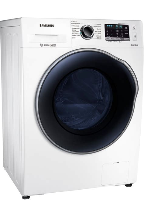 lave linge sechant samsung wd80j5430aw care 4169654 darty