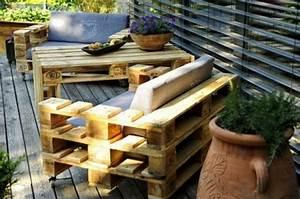 Paletten Möbel Garten : 50 coole modelle sofa aus europaletten ~ Markanthonyermac.com Haus und Dekorationen